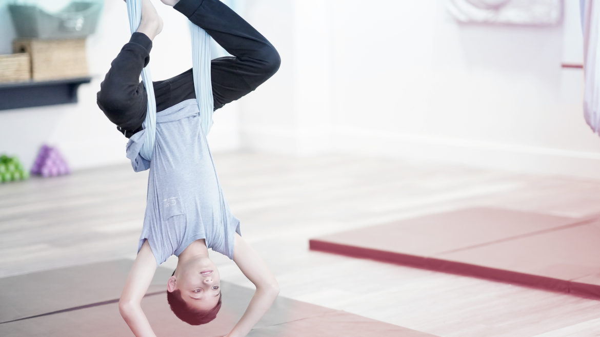 Aerial Kids Flips and Tricks (ages 11+)